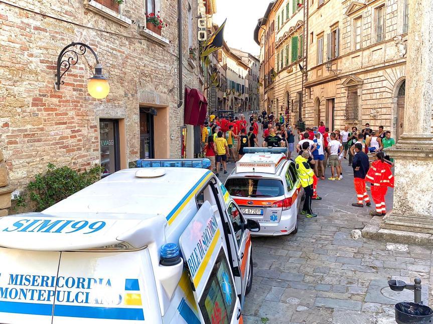 Provincia di Siena: L'impegno della Centrale 118 per lo svolgimento del Bravìo delle Botti aMontepulciano