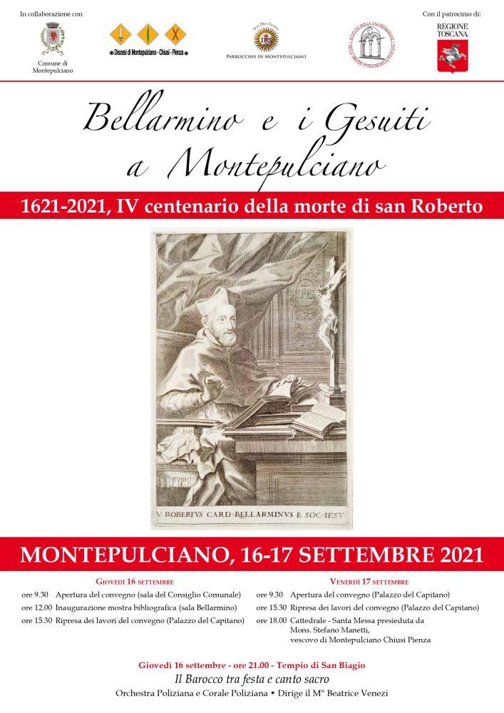 Provincia di Siena: Montepulciano un convegno internazionale dedicato alla figura di RobertoBellarmino