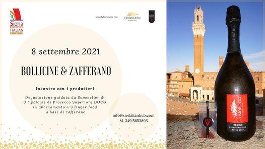 Siena: Piazza del Campo ospita l'evento Bollicine&Zafferano
