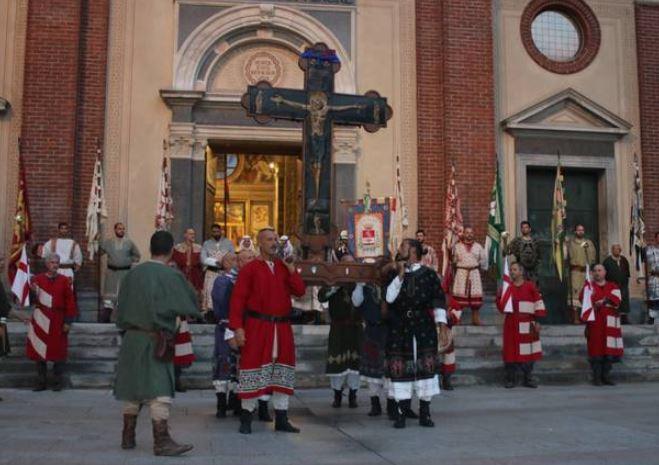 Palio di Legnano: La Croce di Ariberto è tornata alla contrada LaFlora