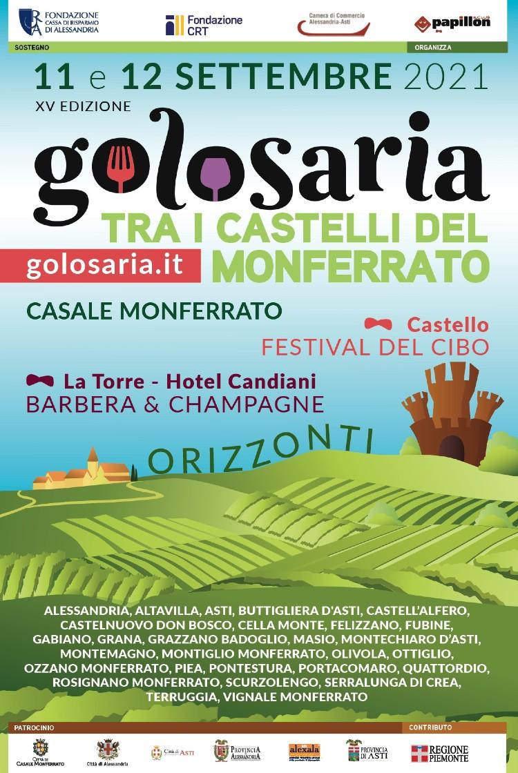 Palio di Asti, Golosaria: Un Monferrato da bere, da mangiare e da guardare dalle bigbench