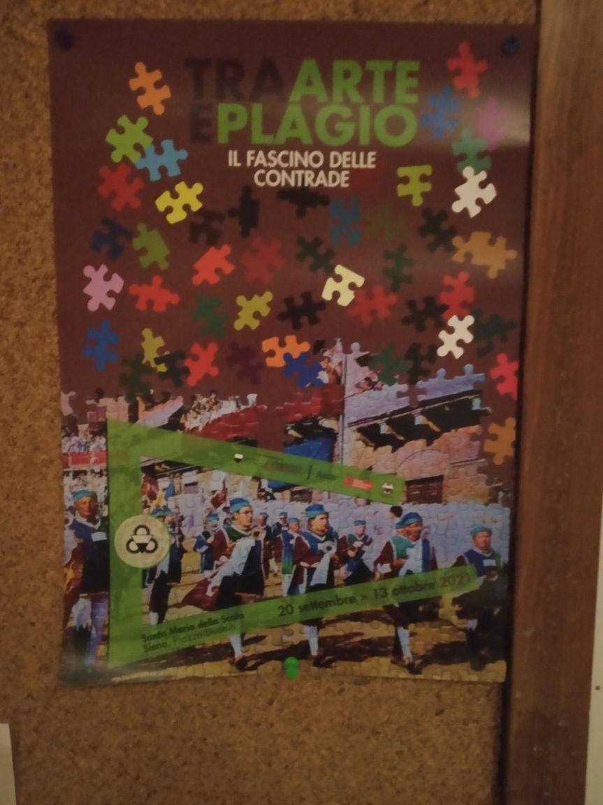 """Siena: """"Tra arte e plagio. Il fascino delle Contrade"""", apre la mostra realizzata dal Consorzio per la Tutela delPalio"""