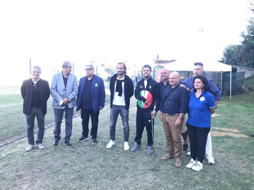 Siena, Acn Siena: Il Siena presente all'inaugurazione impianti sportivi di CastelnuovoBerardenga