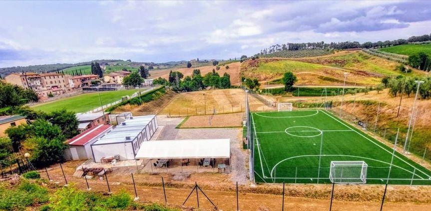 "Provincia di Siena, Castelnuovo: Match tra Gsd Berardenga e Acn Siena per salutare i nuovi impianti sportivi ""A.Franchi"""