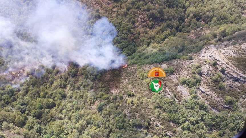 Toscana: Oggi 05/09 Incendio nel territorio del Comune diReggello