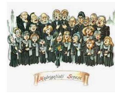 Siena: Madrigalisti Senesi, venerdì 24 il concerto per le vie dellacittà