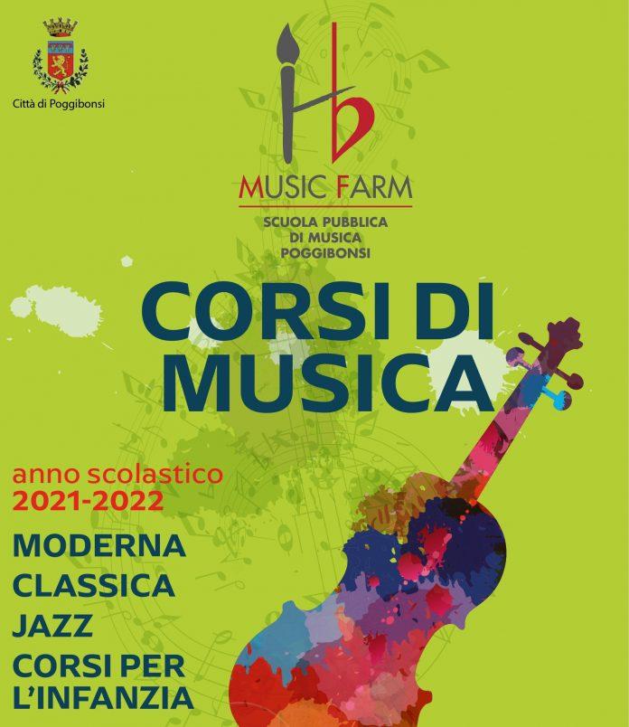 Provincia di Siena:  Via alle iscrizioni alla scuola di musica pubblica diPoggibonsi