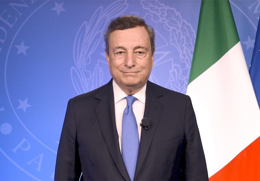 Italia: Major Economies Forum on Energy and Climate, videomessaggio del PresidenteDraghi