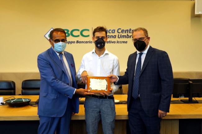 Sienqa: All'atleta paralimpico Matteo Betti il Premio Eccellenze di BancaCentro