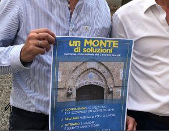 """Siena, Lega, parte la raccolta firme per petizione Mps. Picchi: """"Con 4 miliardi di euro possiamo realizzare una bancasana"""""""