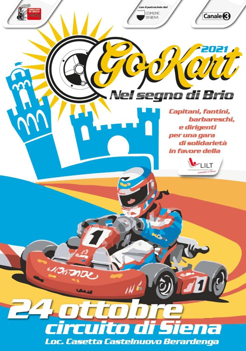 Palio di Siena: Palio dei Go Kart, si scaldano imotori