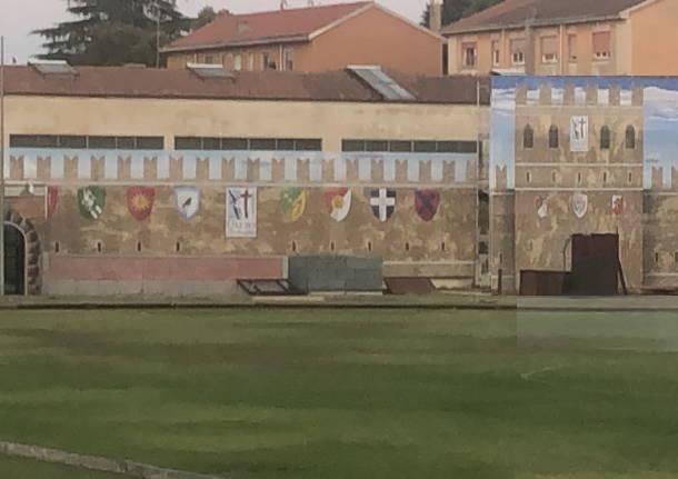 """Palio di Legnano, Brumana e la scenografia al Campo non in epoca: """"Nulla nel Palio èverosimile"""""""