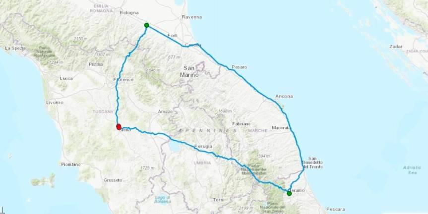 Siena, Acn Siena, La Robur cinque giorni fuori e 900 km in pullman: La squadra è partita perTeramo