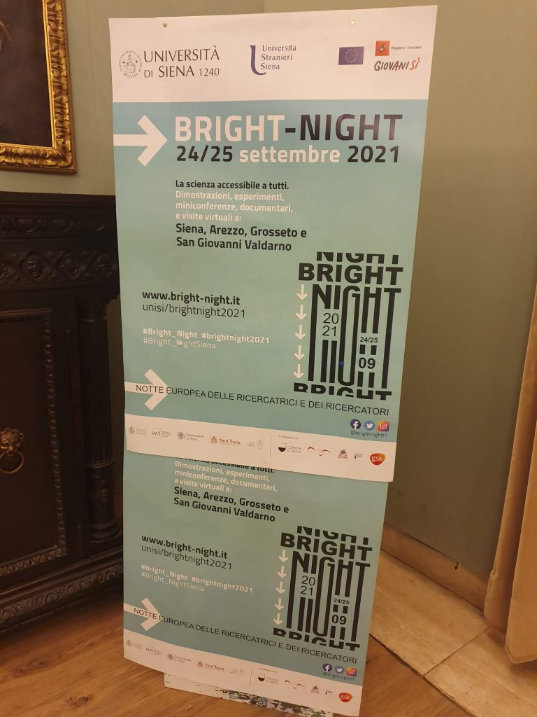"""Siena, Bright Night, Marsili: """"Ricerca fondamentale per raggiungere i 17 obiettivi di svilupposostenibile"""""""