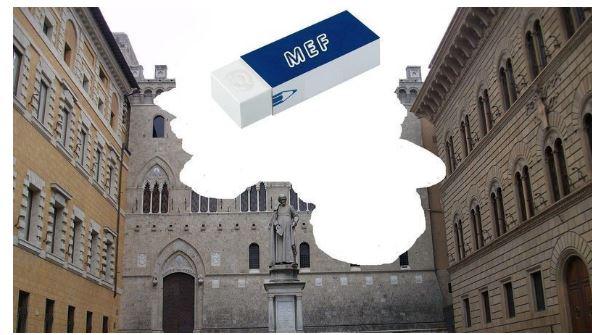 """Siena, petizione rivolta al presidente Draghi: """" Non cancellate ilMonte"""""""
