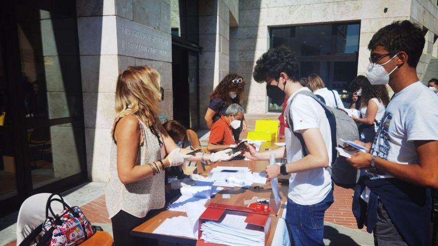 Siena: Test di Medicina, la carica dei 716 studenti con il greenpass
