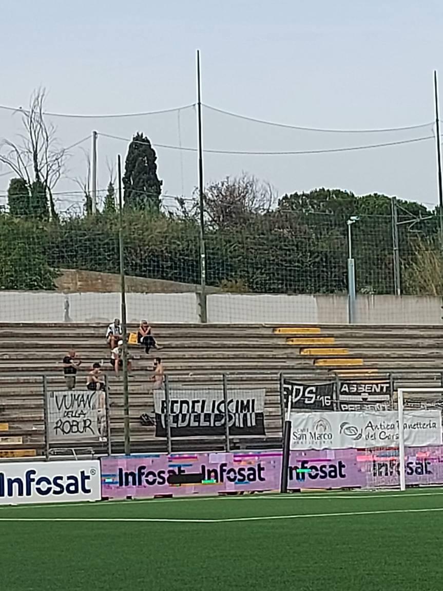 Siena, Acn Siena: Un Siena sperimentale eliminato dal Teramo dalla Coppa Italia serie C, Teramo-Siena1-0