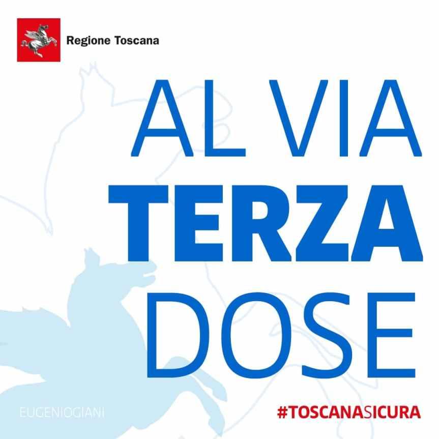 Toscana: Al via la somministrazione della TerzaDose