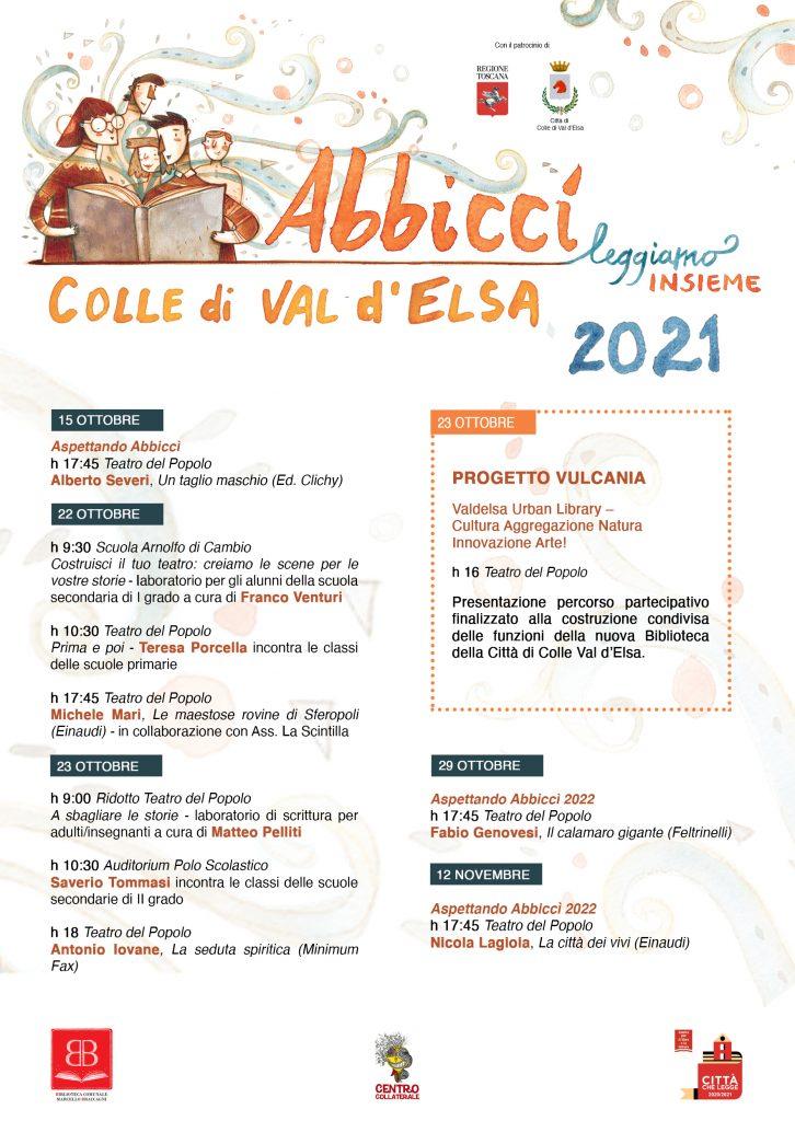 Provincia di Siena, Abbiccì, leggiamo insieme: A Colle il Festival che promuove la lettura per ognietà
