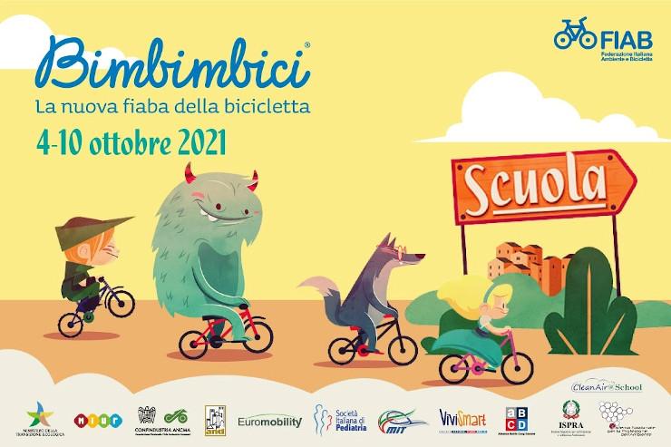 Siena, Bimbimbici 2021: La nuova fiaba dellabicicletta