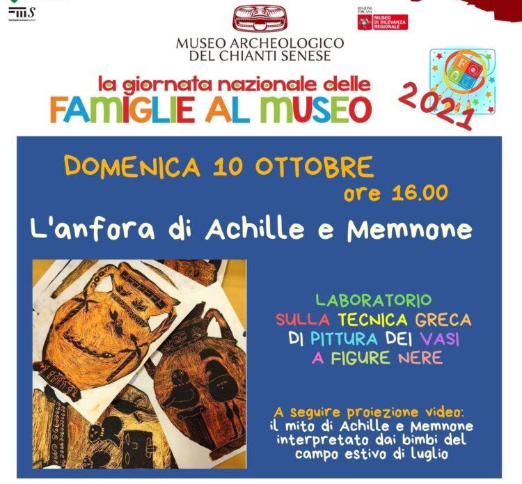 Provincia di Siena: La Giornata nazionale delle famiglie al Museo arriva aCastellina
