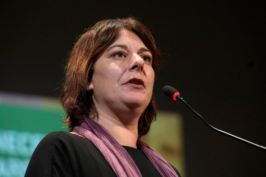 """Siena, Università per Stranieri, la lezione di Cecilia Strada: """"Diritti per tutti, la cruda legge del mare ce loinsegna"""""""