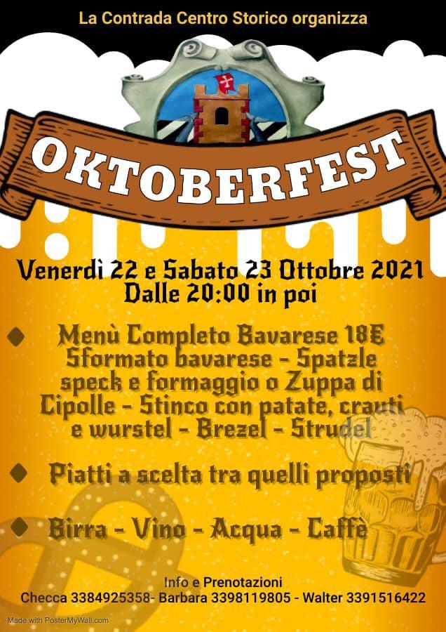 Palio di Bientina, Contrada Centro Storico: 22-23/10Oktoberfest
