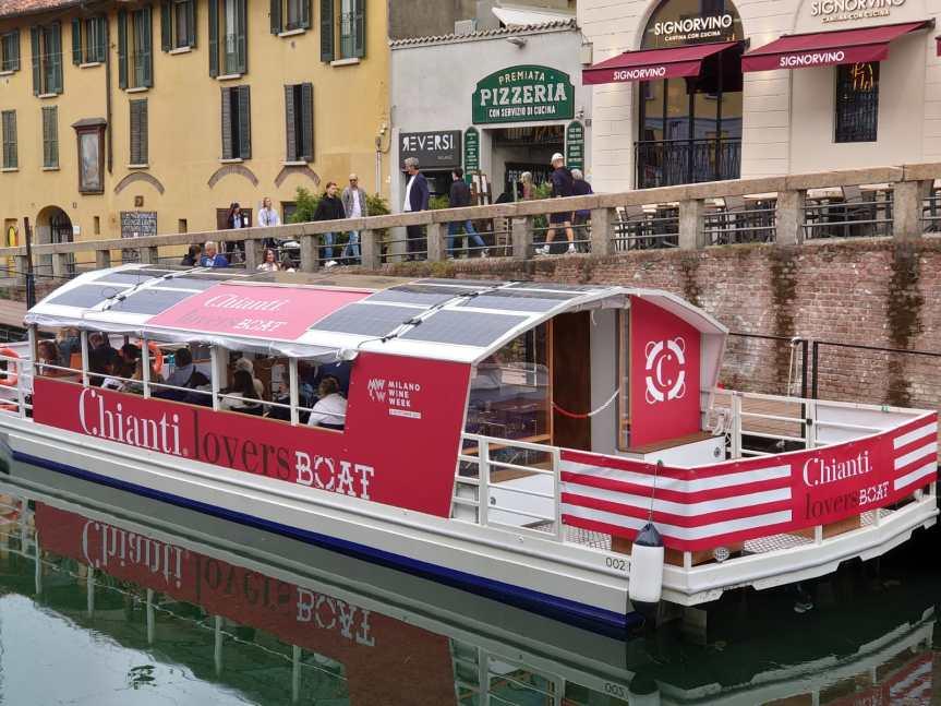 Toscana, Milano Wine Week: Ecco la Chianti LoversBoat