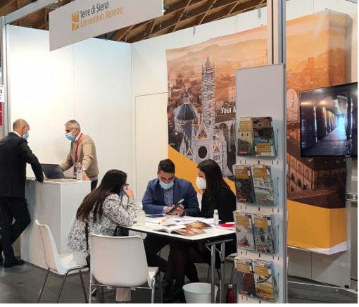 Siena: Convention Bureau Terre di Siena protagonista alla Ttg diRimini