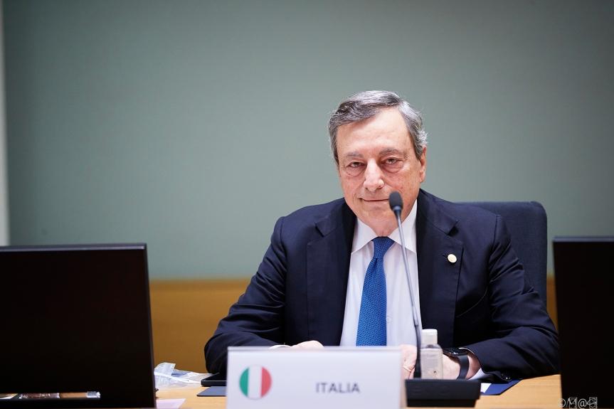 Italia: Il Presidente Draghi al Consiglio europeo del 21 e 22ottobre