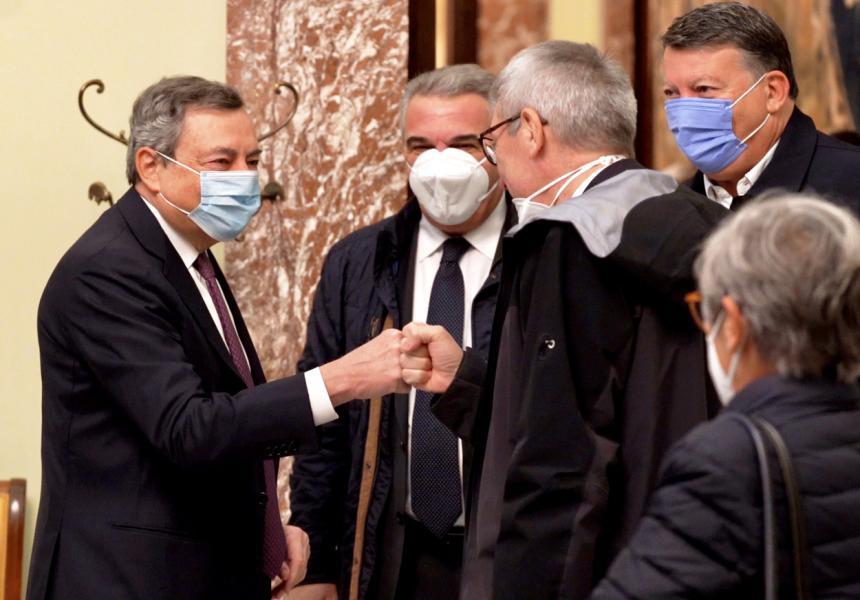 Italia: Il Presidente Draghi ha incontrato le organizzazioni sindacali Cgil, Cisl,Uil