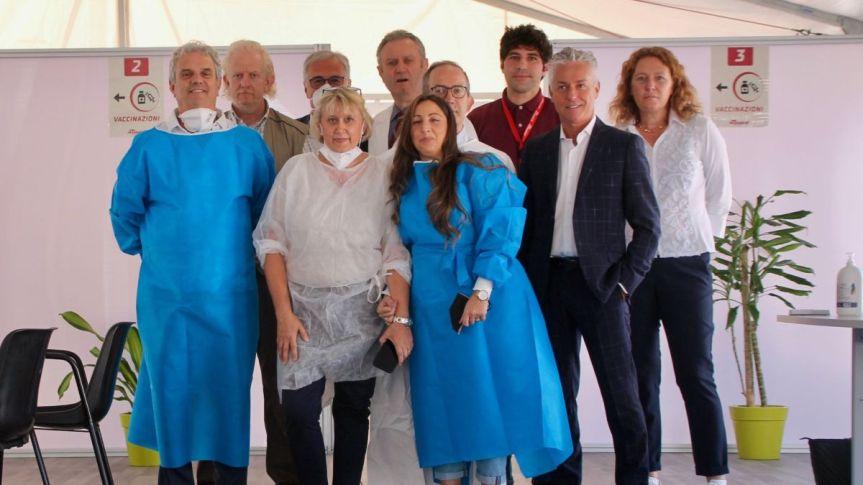 Provincia di Siena, Torrita di Siena: Ottimo riscontro per la prima apertura dell'hubvaccinale