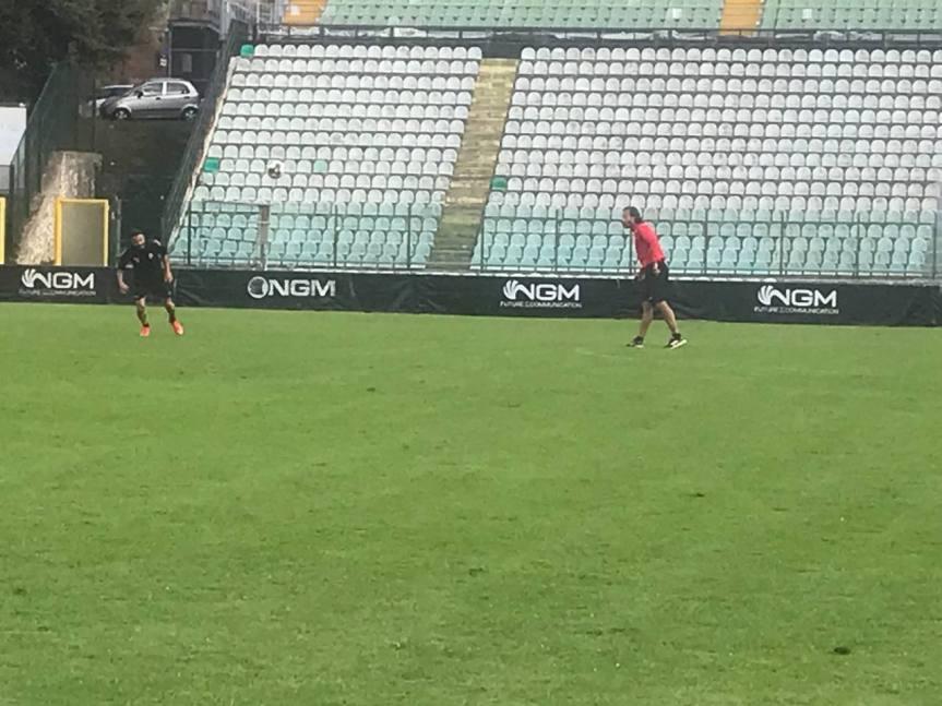 Siena, Acn Siena: Oggi 06/10 allenamento allo Stadio Artemio Franchi con il presidenteGazaryan