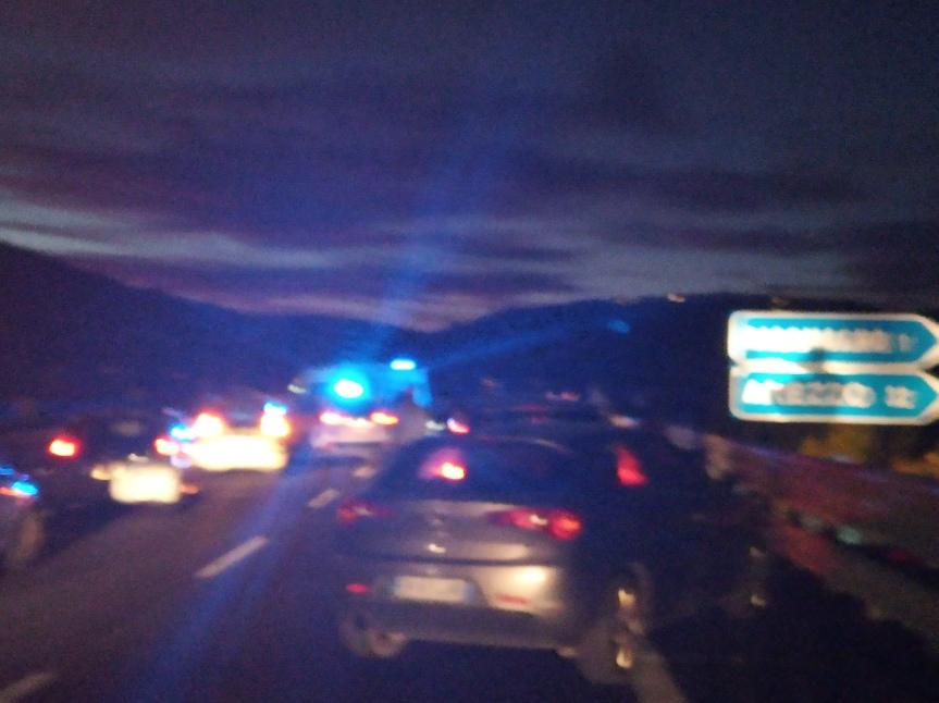 Provincia di Siena: Oggi 19/10 incidente sulla Siena-Bettolle direzioneSiena