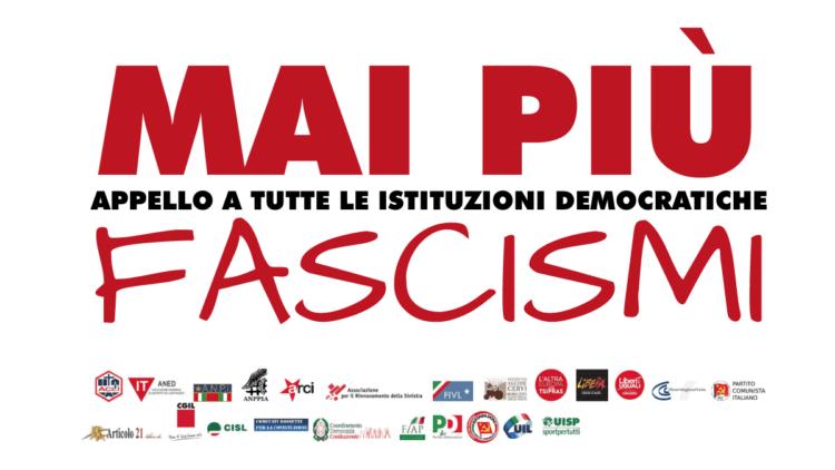 """Toscana, """"Mai più fascismi"""": Migliaia di toscani si sono dati appuntamento aRoma"""