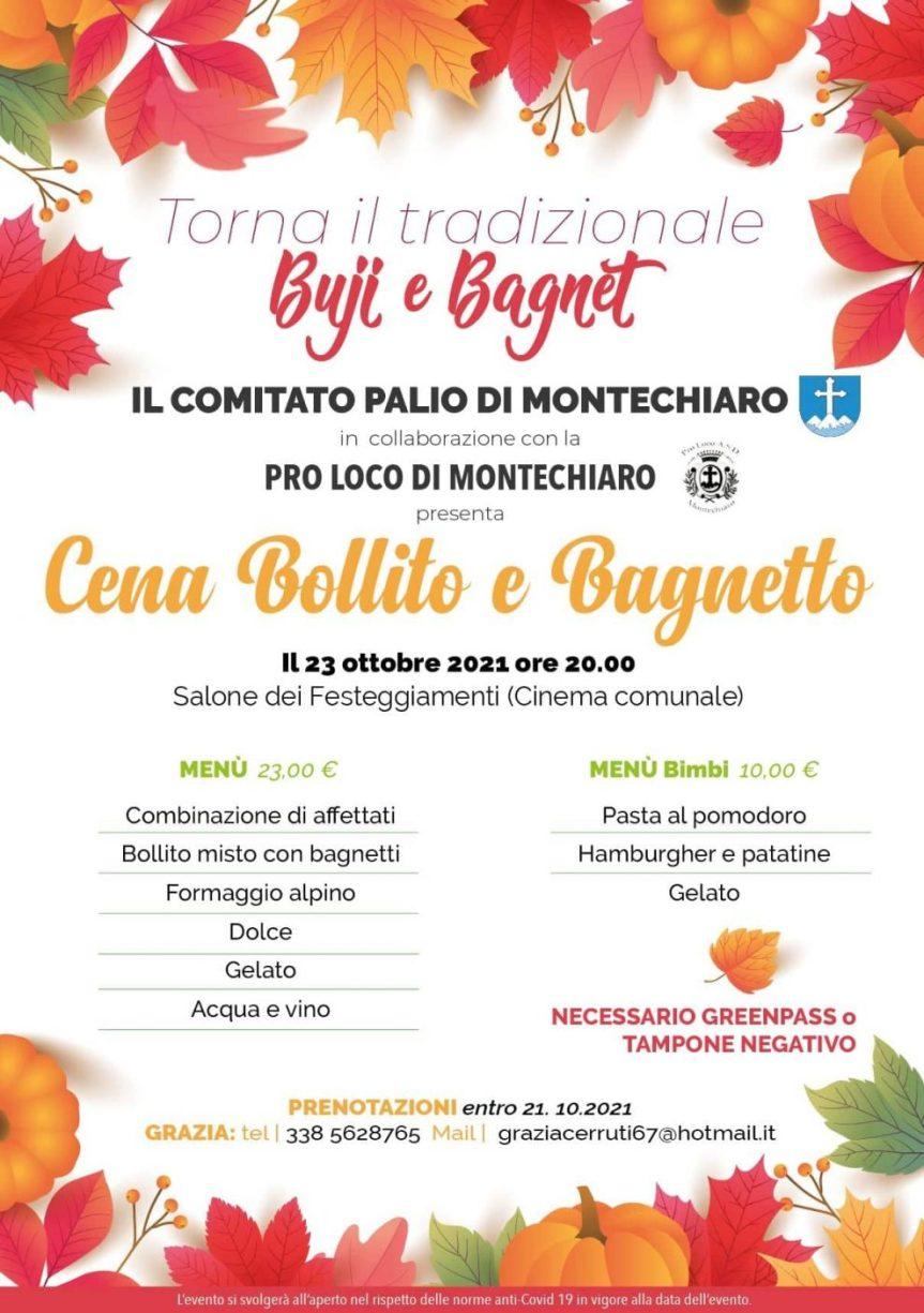 """Palio di Asti, COmitato Palio Montechiaro: 23/10 """"Buji e Bagnet"""". Presentato al Salone del Libro """"Montechiaro nelcuore"""""""