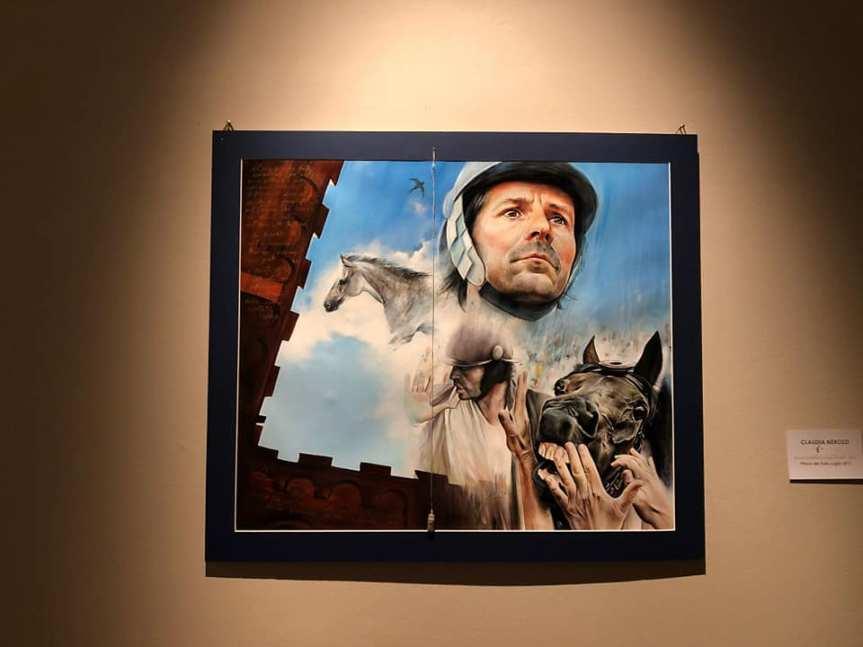 """Palio di Siena: Arte e Palio, Cavalli D'Autore. Berrettini """"Una mostra nel segno diBrio"""""""