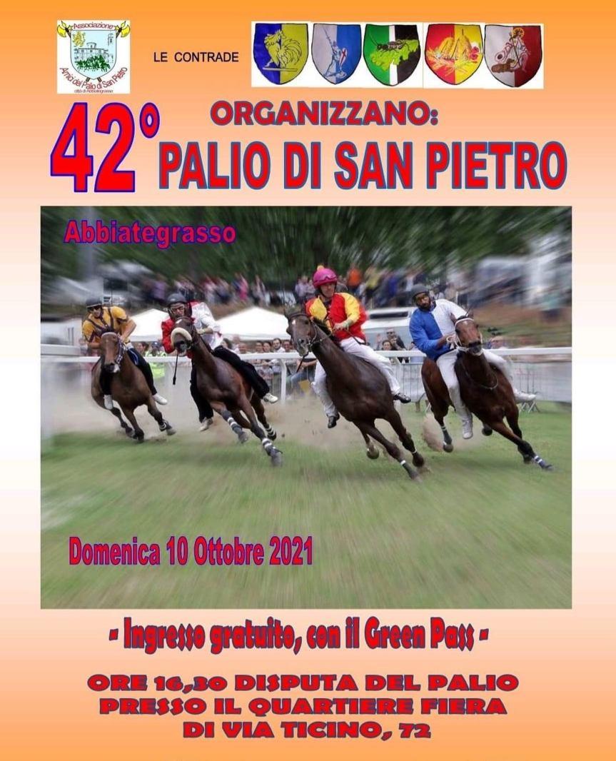 Palio di Abbiategrasso: Le accoppiate cavallo-fantino Contrada per Contrada per il Palio del10/10