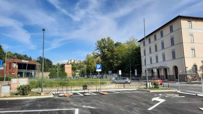 Siena: Il nuovo parcheggio a Colonna San Marco èrealtà