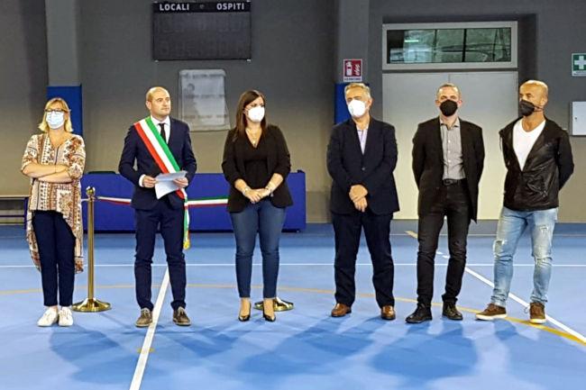 Provincia di Siena: San Gimignano, inaugurata la palestra della scuolamedia