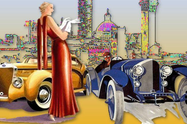 """Siena: 'Eleganza nella bellezza"""", l'eleganza dell'auto nella bellezza dellacittà"""