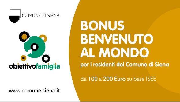 Siena: Bonus Benvenuti alMondo