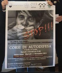 Siena: Al via due nuovi corsi gratuiti di autodifesa perdonne