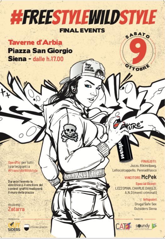 Siena: Musica rap e street art per rilanciare la socialità a Taverned'Arbia