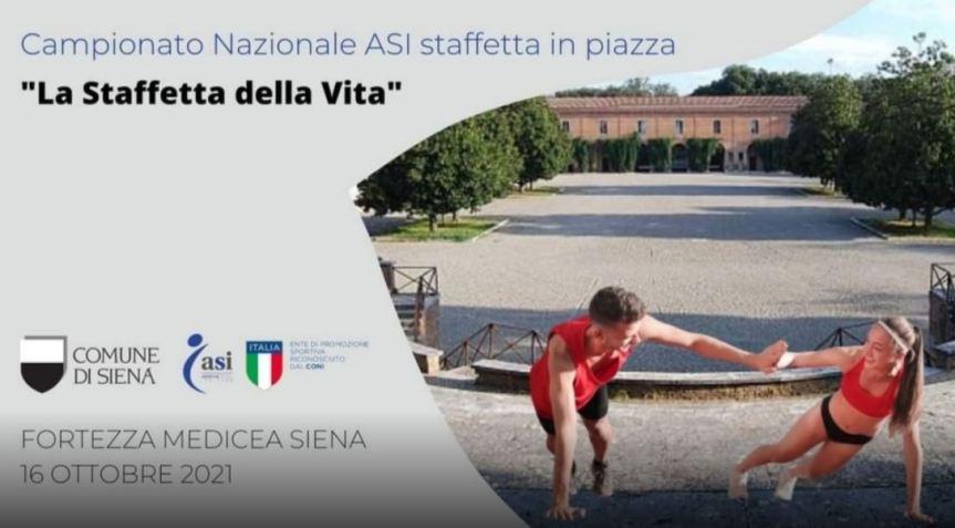 """Siena: 16/10 ore 15.00 la """"Staffetta dellavita"""""""