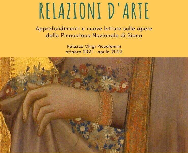 """Siena: """"Relazioni d'arte"""", approfondimenti e nuove letture sulle opere della Pinacoteca Nazionale diSiena"""