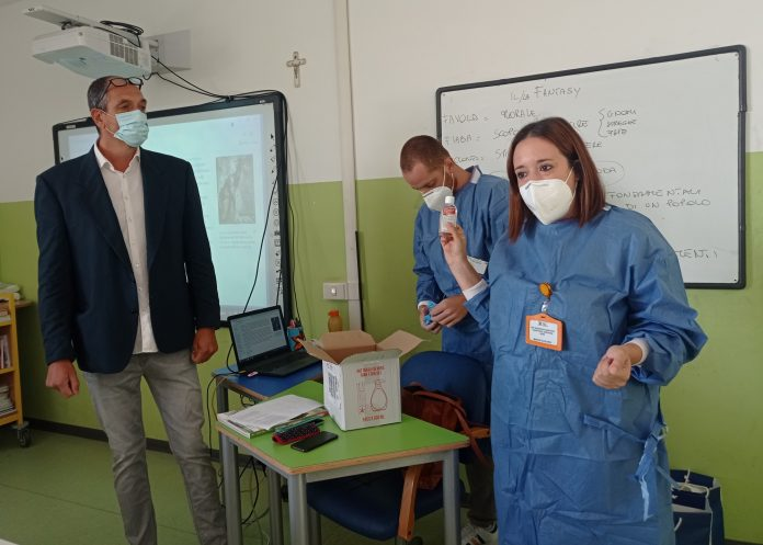 Siena: Test salivari nelle scuole, al Mattioli sottoposti già 180studenti