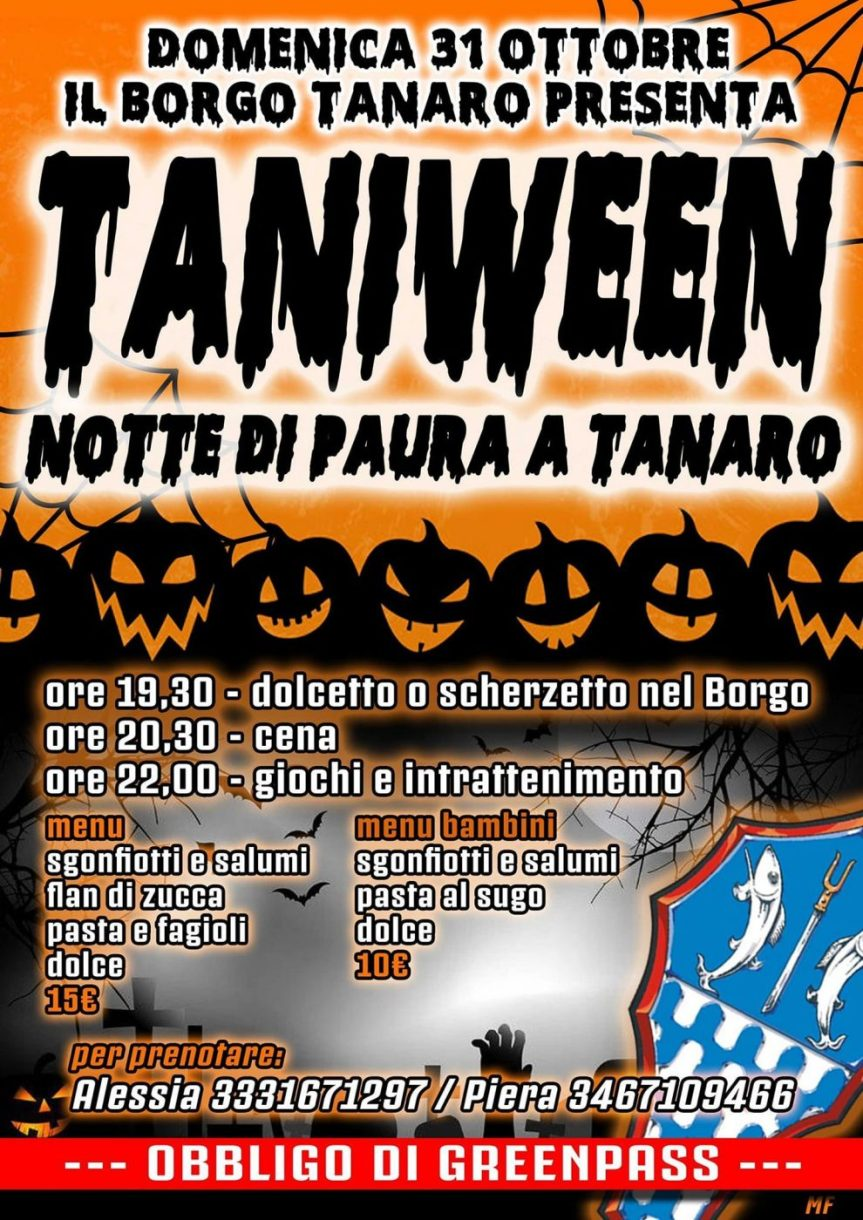 Palio di Asti, Comitato Palio Borgo Tanaro: 31/10Taniween